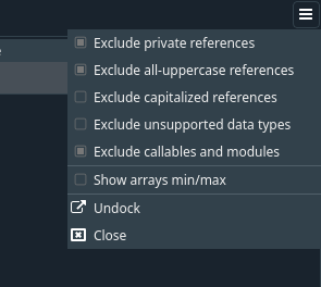 Exclude callables modules